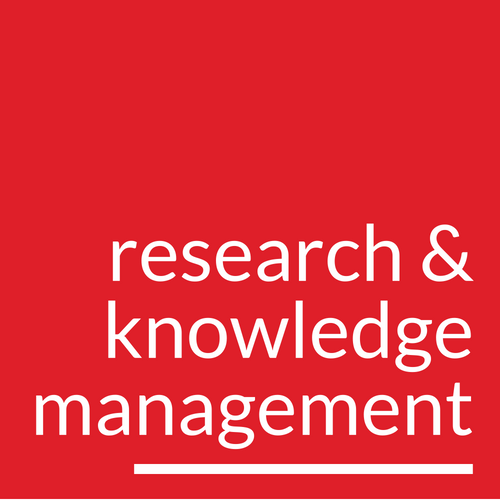 Research and Knowledge Management