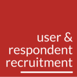 User and Respondent Recruitment