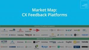 CX Feedback Platforms Market Map