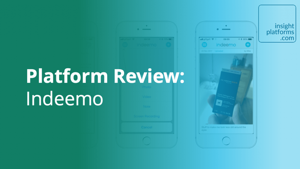 Platform Review - Indeemo - Insight Platforms