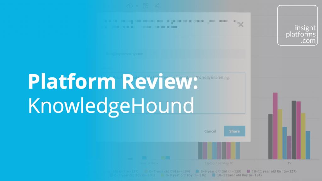 Platform Review - KnowledgeHound - Insight Platforms