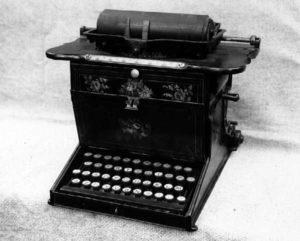 Sholes-Glidden Typewriter