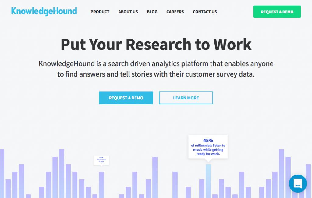 KnowledgeHound analytics platform