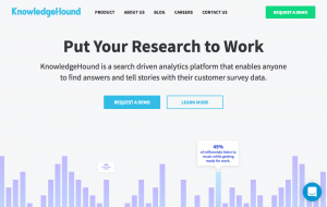 KnowledgeHound analytics platform