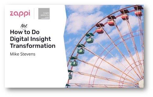 Zappi ebook cover insight transformation