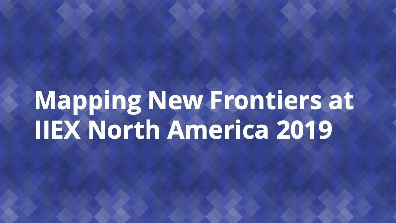 Mapping New Frontiers IIEX 2019