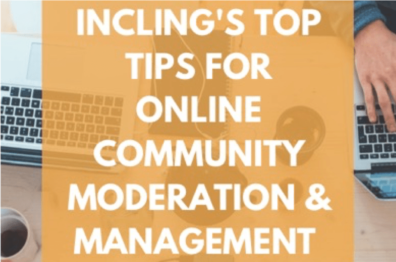 incling ebook cover - guide to community moderation