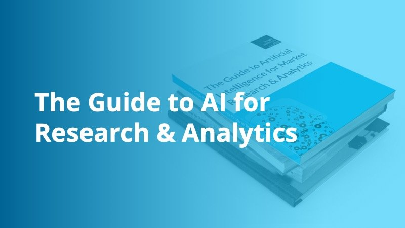 The Guide to AI for Research & Analytics