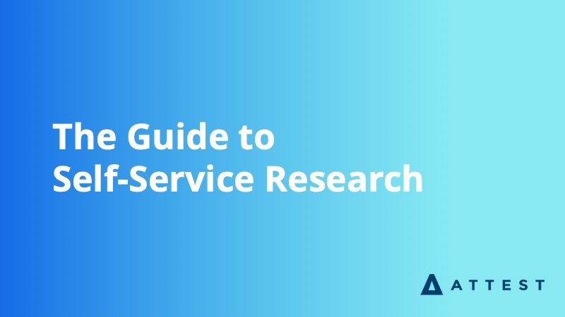 The Guide to Self Service Research - Insight Platforms