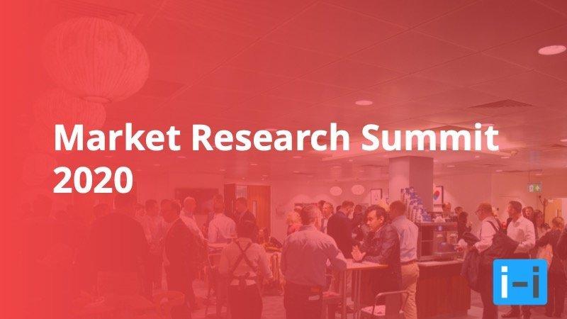 Market Research Summit 2020 - Insight Platforms