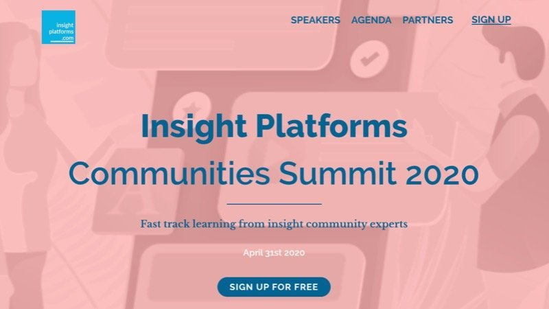 Communities Summit Demo - Insight Platforms