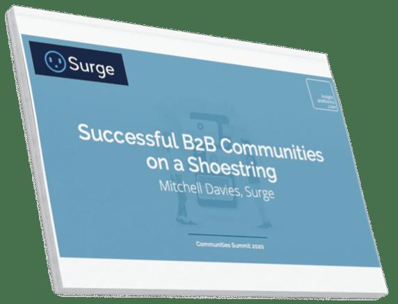 Communities Summit PDF Slides - Insight Platforms