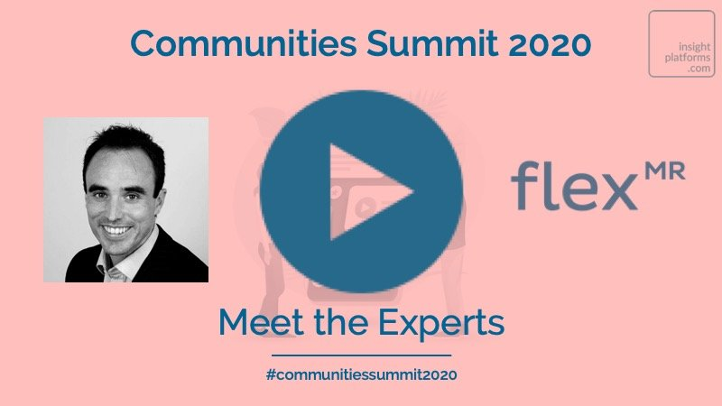 Communities Summit Video Thumbnail - FlexMR