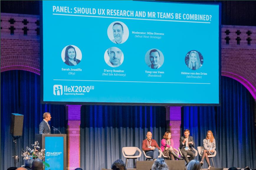 IIEX Panel On Stage - Insight Platforms