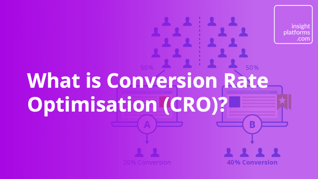 What is Conversion Rate Optimisation - Insight Platforms