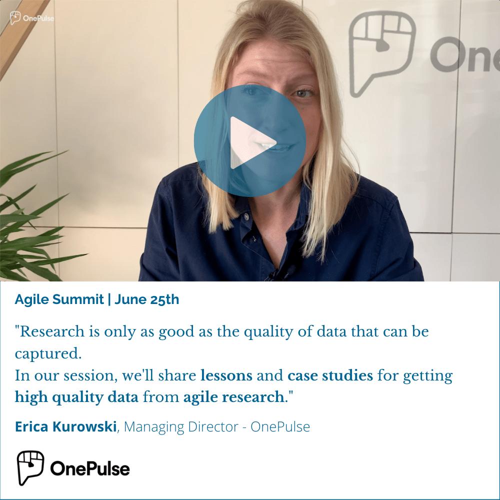 OnePulse Agile Summit Video Panel - Square