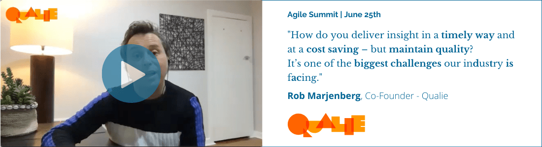 Qualie Agile Summit Video Panel - Landscape