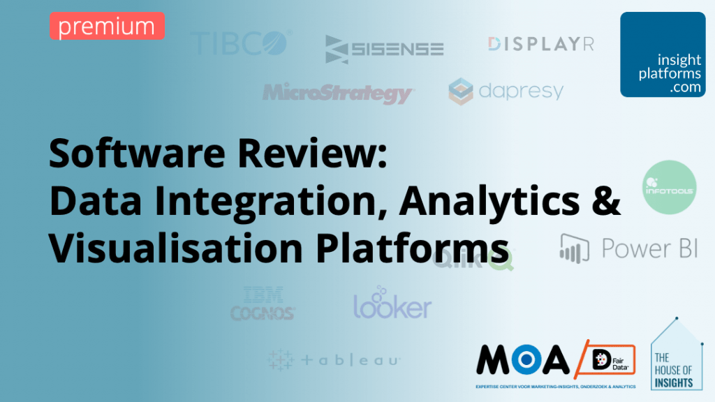 Software Review - Data Analytics and Visualisation - Insight Platforms