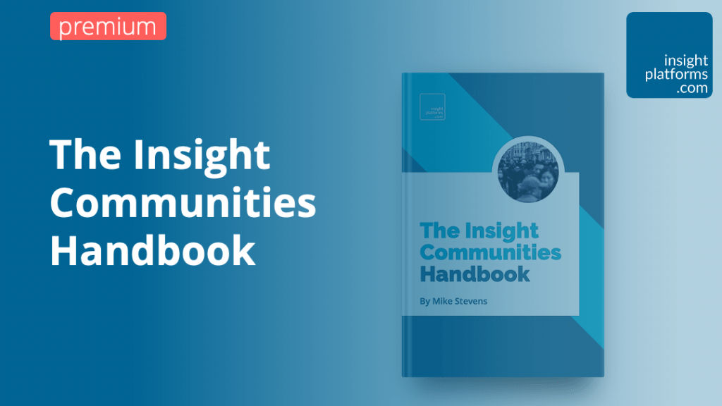 The Insight Communities Handbook - Insight Platforms 2