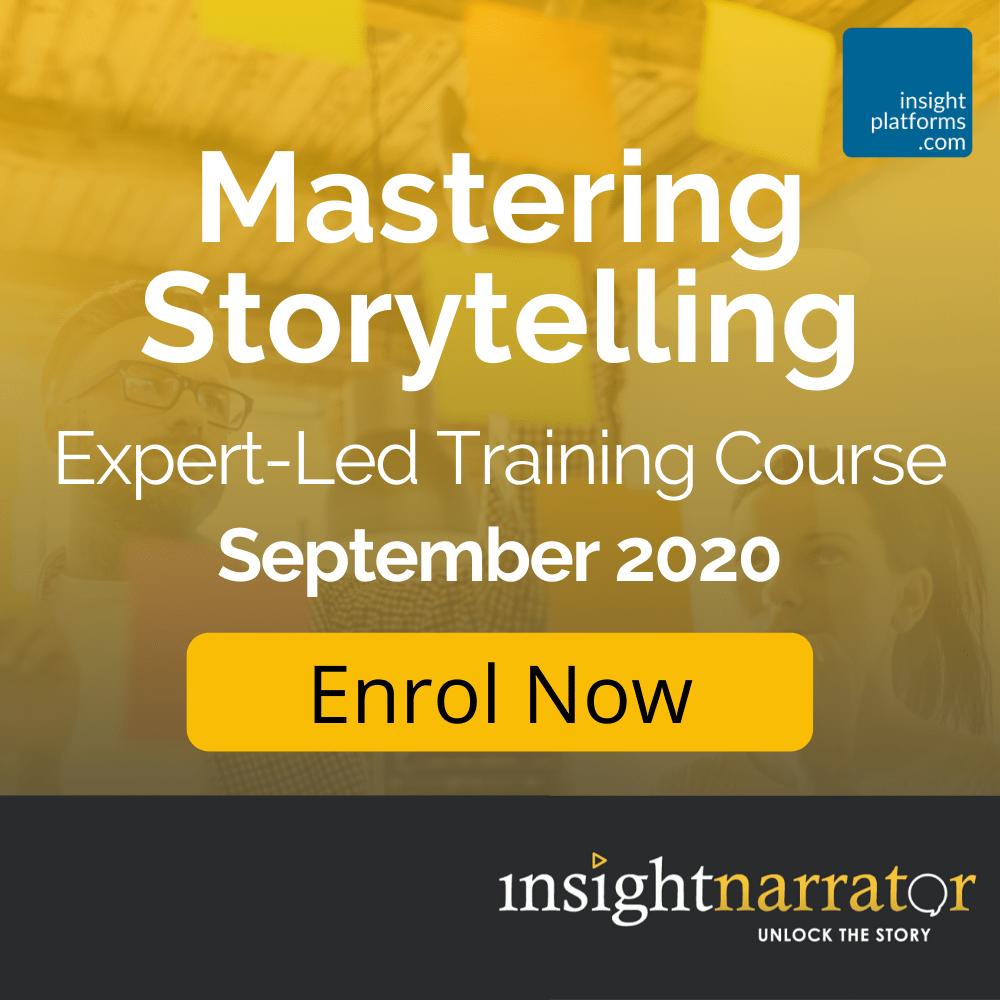 Mastering Storytelling - Square