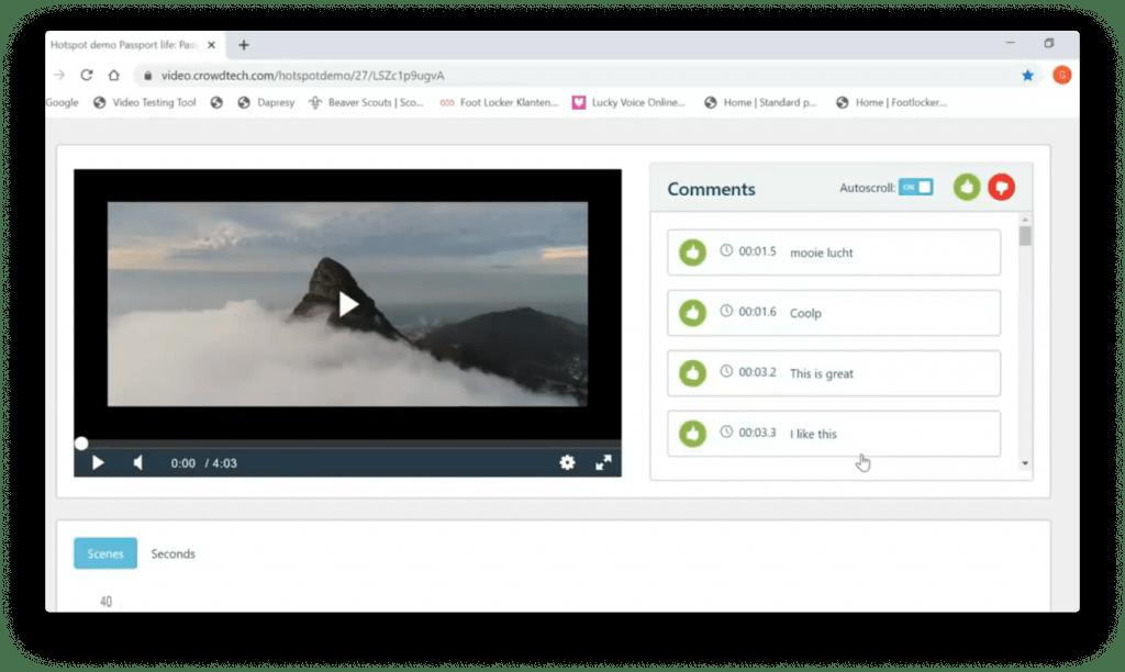 Crowdtech Demo Screenshot - Video Testing - Insight Platforms