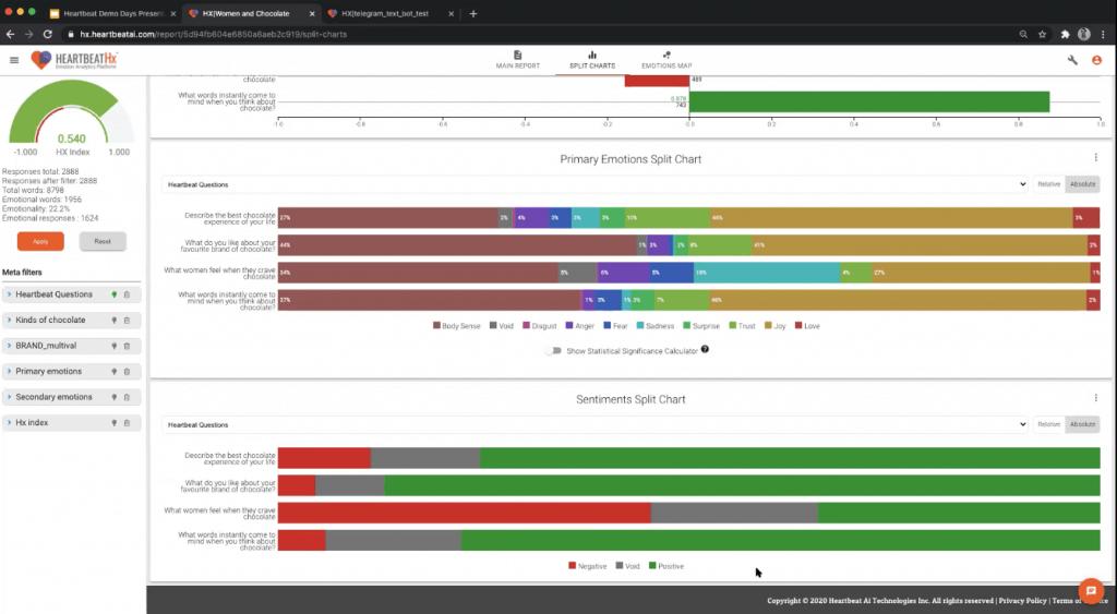 Heartbeat Ai Demo Screenshot 2 - Emotion Analytics - Insight Platforms