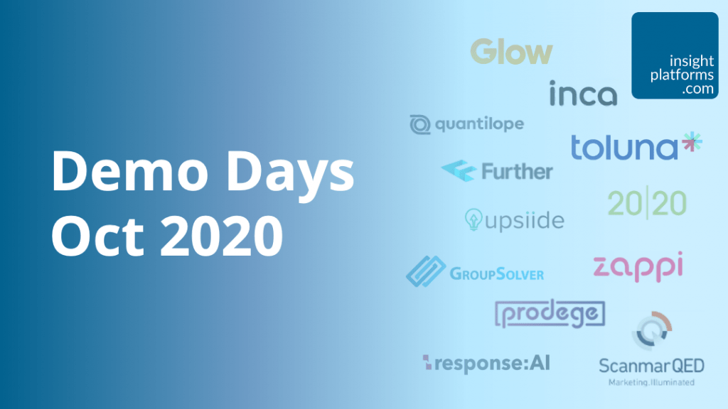 Insight Platforms Demo Days Oct 2020 Featured Image
