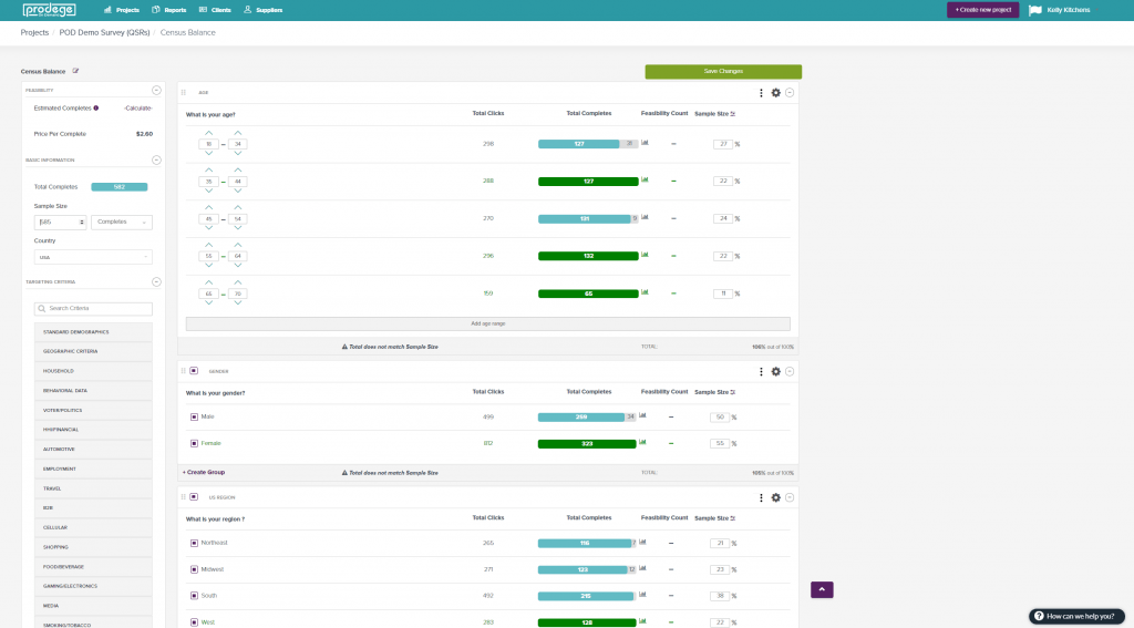 DIY Survey Research Software -Prodege Screenshot