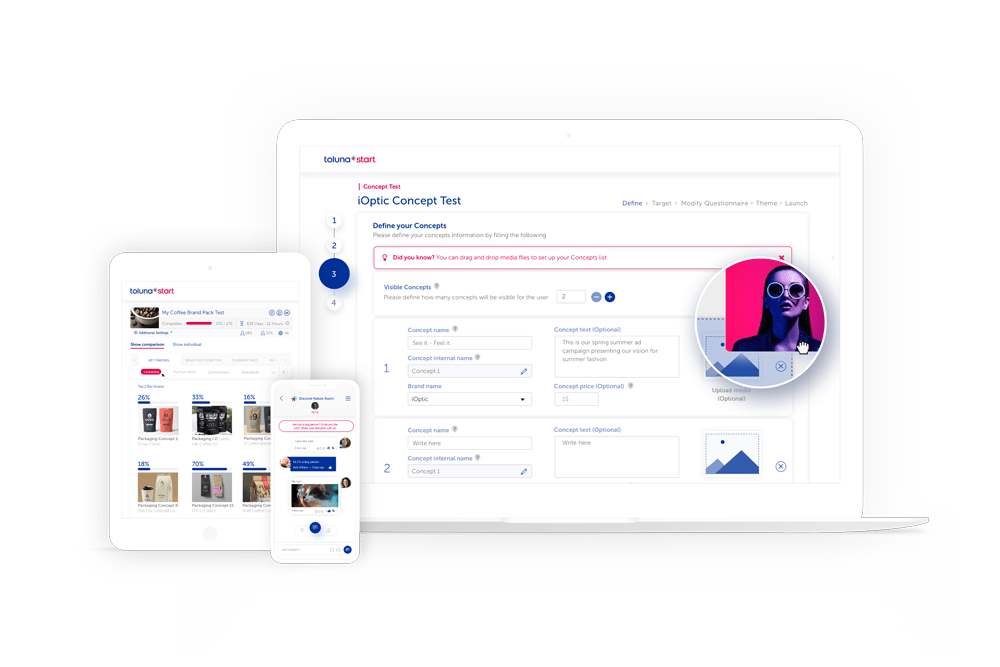 DIY Survey Research Software - Toluna Screenshot