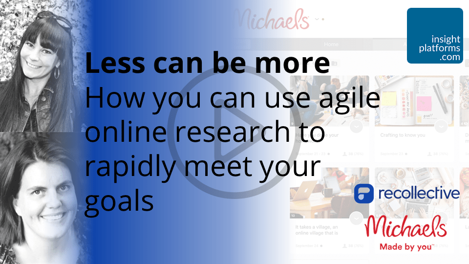 How you can use agile online research to rapidly meet your goals